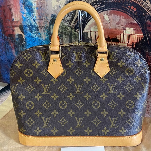 Louis Vuitton Handbags - Authentic Louis Vuitton Alma Pm monogram canvas